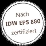 EPS880 Zertifizierung - fimox Buchhaltungssoftware