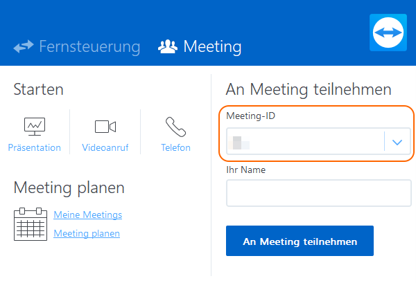 Teamviewer Sitzung Schritt 3 - fimox Buchhaltungssoftware